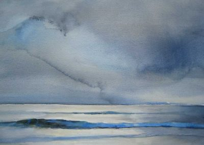 Blue Wave - 38x56cm