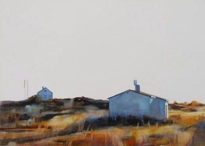 Houses - 56x76cm