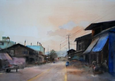 Huay Yang - 38x56cm