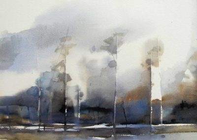 Anette Gustafsson Art - Akvarellmålare | Landskap