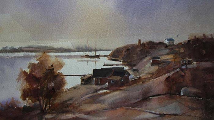 Utställning i Galleri Rödhamn