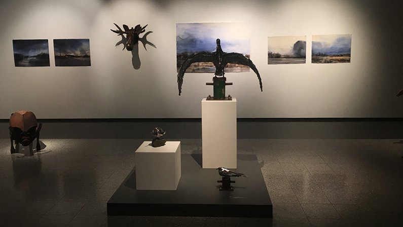 Exhibition at Åland's Art Museum 2019